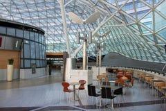 Interiore moderno della costruzione Immagini Stock