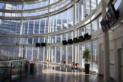Interiore moderno della costruzione Immagine Stock