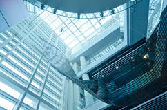 Interiore moderno della costruzione Immagini Stock Libere da Diritti