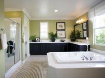 Interiore moderno della stanza da bagno Fotografie Stock