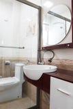 Interiore moderno della stanza da bagno Fotografia Stock