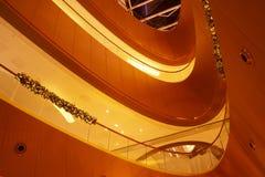 Interiore moderno di architettura immagini stock libere da diritti