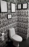 Interiore moderno di una toletta Fotografie Stock