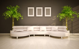 interiore moderno minimo Fotografia Stock