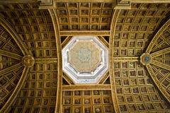 Interiore nel castello Fontainebleau 2 Fotografie Stock