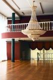 Interiore nel teatro Fotografia Stock