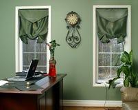 Interiore nel verde Fotografia Stock