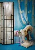 Interiore raffinato del boudoir fotografia stock libera da diritti