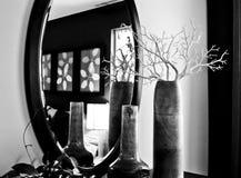 Interiore residenziale dello specchio Fotografia Stock Libera da Diritti