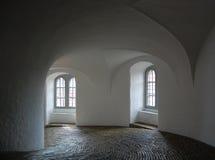 Interiore rotondo della torretta Fotografia Stock