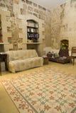 Interiore rustico caldo Fotografia Stock Libera da Diritti
