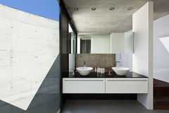 Interiore, stanza da bagno Immagine Stock