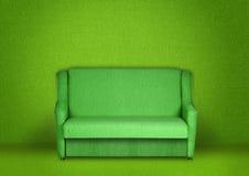 Interiore verde Immagini Stock
