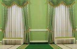 Interiore verde Fotografia Stock