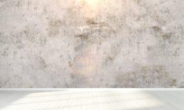 Interiore vuoto 3d rendono Fotografie Stock Libere da Diritti
