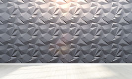 Interiore vuoto 3d rendono Fotografie Stock