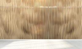 Interiore vuoto 3d rendono Immagine Stock