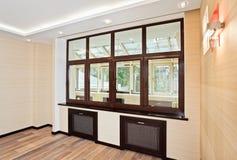 Interiore vuoto del salone nello stile moderno Fotografia Stock