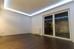 Interiore vuoto dell'appartamento Fotografia Stock Libera da Diritti