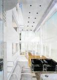 interioren skissar Arkivfoto
