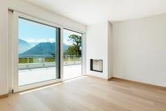 Interiores, casa moderna foto de stock royalty free