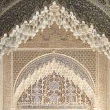 Interiores de Alhambra em Granada, Espanha Imagens de Stock Royalty Free