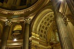 Interiores de la basílica di Superga fotografía de archivo libre de regalías