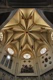 Interiores de la catedral Fotografía de archivo libre de regalías