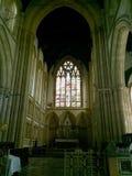 Interiores de la iglesia afgana, Bombay, la India Fotografía de archivo