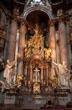 Interiores de la iglesia de San Nicolás Foto de archivo