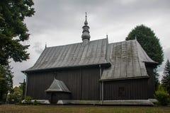 Interiores de la pequeña ciudad y al aire libre en Polonia Foto de archivo