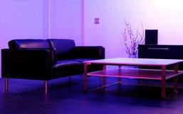 Interiores de la sala de estar Foto de archivo