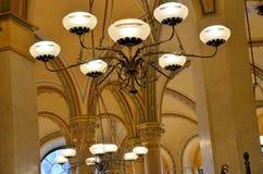 Interiores de la tienda de pasteles famosa en Viena Imagen de archivo