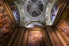 Interiores de Palazzo Barberini, Roma, Itália Fotografia de Stock