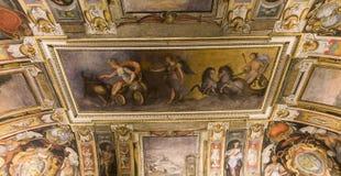 Interiores de Palazzo Barberini, Roma, Itália Foto de Stock