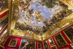 Interiores de Palazzo Pitti, Florença, Itália Foto de Stock