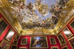 Interiores de Palazzo Pitti, Florença, Itália Fotografia de Stock
