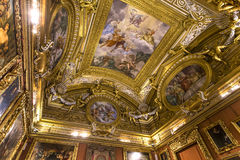 Interiores de Palazzo Pitti, Florença, Itália Imagens de Stock Royalty Free