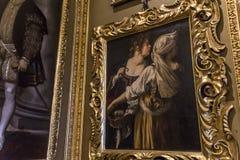 Interiores de Palazzo Pitti, Florença, Itália Imagem de Stock Royalty Free