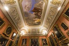 Interiores de Palazzo Pitti, Florença, Itália Foto de Stock Royalty Free