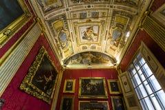 Interiores de Palazzo Pitti, Florencia, Italia Imagenes de archivo