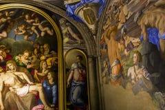 Interiores de Palazzo Vecchio, Florença, Itália Imagens de Stock