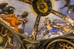 Interiores de Palazzo Vecchio, Florença, Itália Imagens de Stock Royalty Free
