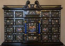 Interiores de Palazzo Vecchio, Florencia, Italia Imagen de archivo libre de regalías