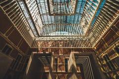 Interiores de Rijksmuseum, Amsterdão imagem de stock
