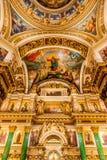 Interiores de St Isaac Cathedral Foto de archivo