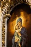 Interiores de St Isaac Cathedral Imagenes de archivo