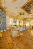 Interiores de Tsarskoe Selo Fotografia de Stock