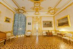 Interiores de Tsarskoe Selo Foto de archivo