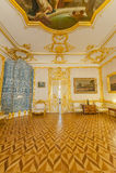 Interiores de Tsarskoe Selo Imágenes de archivo libres de regalías
